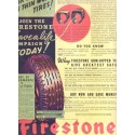 "1937 Firestone Tire Ad ""Risk Your Life...!"""