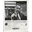 "1963 Mutual Of New York Ad ""stockbrocker"""