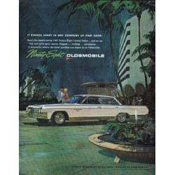 "1963 Oldsmobile Ad ""It Stands Apart"" ~ (model year 1963)"