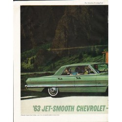 "1963 Chevrolet Impala Ad ""Keeps Going Great"" ~ (model year 1963)"