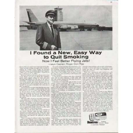 "1963 Bantron Ad ""New, Easy Way"""