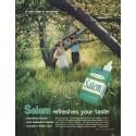 "1958 Salem Cigarettes Ad ""new idea in smoking"""