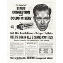 "1958 Dristan Ad ""For Relief"""