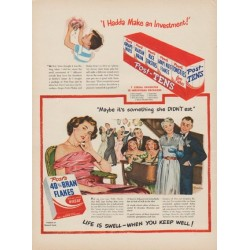 "1949 Post's Ad ""I Hadda Make an Investment!"""