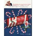 "1958 Pall Mall Cigarettes Ad ""This Christmas"""