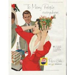 "1958 Pepsi-Cola Ad ""Merry People"""