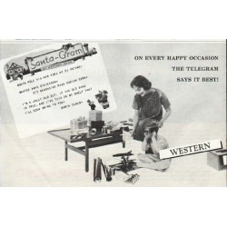 "1958 Western Union Ad ""Every Happy Occasion"""