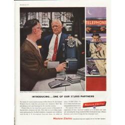 "1958 Western Electric Ad ""Harman Wilkes"""