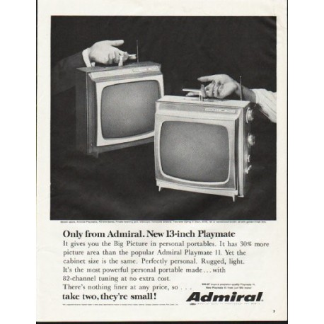"1964 Admiral Television Ad ""Only from Admiral"""