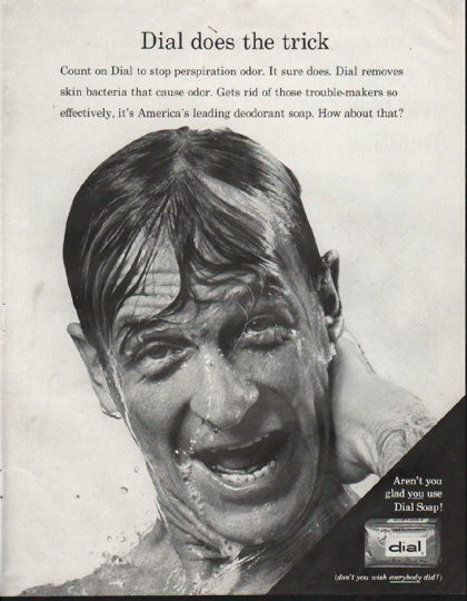 1964 Dial Soap Vintage Ad Quot Does The Trick Quot