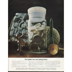 "1964 Prescription Drug Manufacturers Ad ""The tablets"""