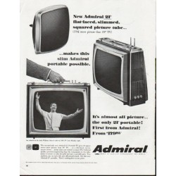 "1965 Admiral Television Ad ""New Admiral 21"""""