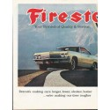 "1965 Firestone Tires Ad ""Symbol of Quality & Service"""