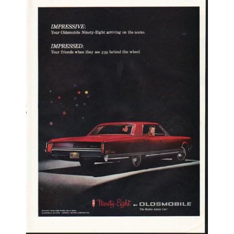 "1965 Oldsmobile Ad ""Impressive"" ~ (model year 1965)"