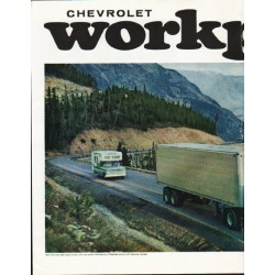 "1965 Chevrolet Trucks Ad ""stays strong"" ~ (model year 1965)"