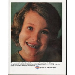 """1965 Savings and Loan Associations Ad """"Most families"""""""