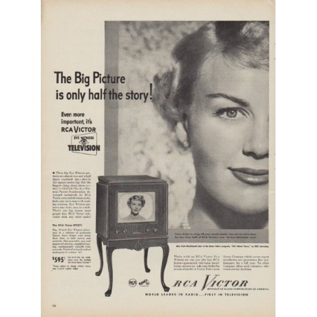 "1949 RCA Victor Ad ""The Big Picture"""