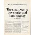 "1961 Members New York Stock Exchange Ad ""smart way"""
