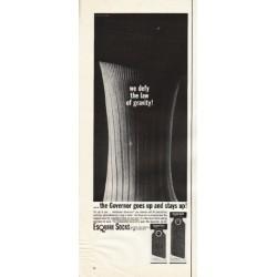 "1961 Esquire Socks Ad ""we defy"""