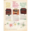 "1961 Hammond Organ Ad ""Look them over"""