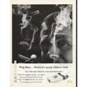 """1961 King Sano Cigarettes Ad """"purest tobacco taste"""""""