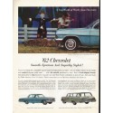 """1962 Chevrolet Ad """"A New World"""" ~ (model year 1962)"""