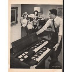 "1961 Lowrey Organ Ad ""Lowrey Starlet"""