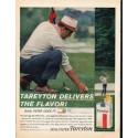 "1961 Tareyton Cigarettes Ad ""Tareyton Delivers"""