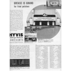 1937 Hyvis Mileage-Metered Lubricants Ad