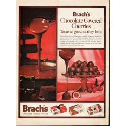 "1961 Brach's Candy Ad ""good as they look"""