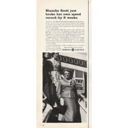 "1961 General Electric Ad ""Blanche Scott"""
