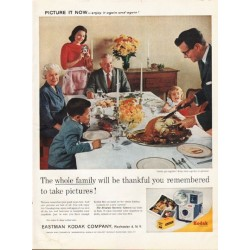 "1961 Kodak Ad ""be thankful"""