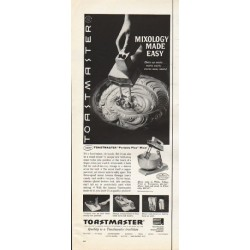 "1961 Toastmaster Ad ""Mixology Made Easy"""