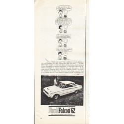 """1962 Ford Falcon Ad """"Thank you, Lucy"""" ~ (model year 1962)"""