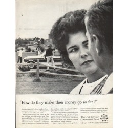 "1961 Foundation for Commercial Banks Ad ""go so far"""
