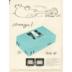 "1948 Yes Tissues Ad ""stronger!"""