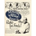 """1948 Ford Parts Ad """"They're Identical Twins"""""""
