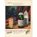 "1948 Clicquot Club Ginger Ale Ad ""It's flavor-aged"""