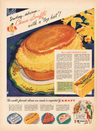 1948 Kraft Cheese Vintage Ad Quot Cheese Souffle Quot