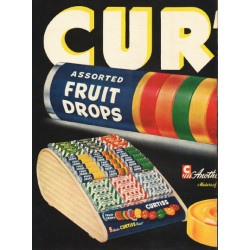 "1948 Curtiss Candy Ad ""Assorted Fruit Drops"""