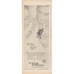 "1948 American Safety Razor Lighter Ad ""For Easter"""
