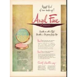 "1948 Pond's Make-Up Ad ""Newest kind"""