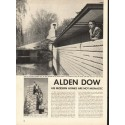 1948 Alden Dow Article ~ His Modern Homes