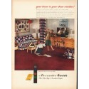 "1948 Alexander Smith Carpets Ad ""your home"""