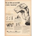 """1948 National Association of Manufacturers Ad """"mousetrap"""""""