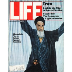 "1980 LIFE Magazine Cover Page ""Khomeini"" ~ January, 1980"