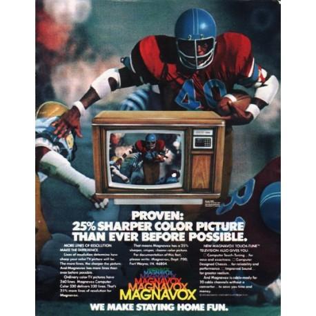 "1980 Magnavox Television Ad ""Proven"""
