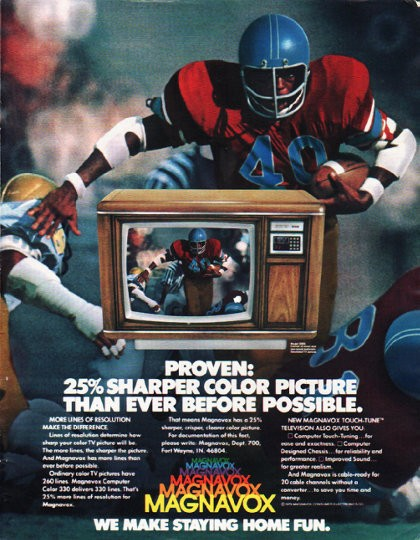 "What Is Freight Shipping >> 1980 Magnavox Television Vintage Ad ""Proven"""