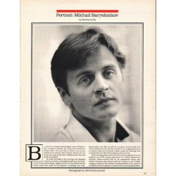 1980 Mikhail Baryshnikov Article ~ by Martha Duffy