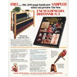 """1980 Encyclopaedia Britannica Ad """"288-page hardcover"""""""